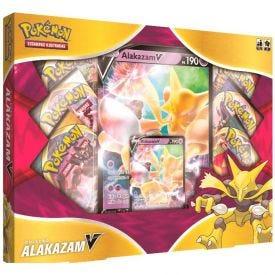 Jogo Box Pokémon Alakazam V Copag - 88589
