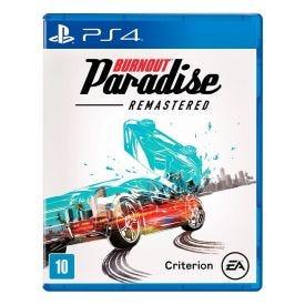Jogo Burnout Paradise Remastered Playstation 4 - Corrida