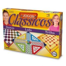 Jogo Clássicos Toia Brinquedos - 12133