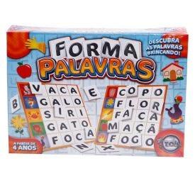Jogo Forma Palavras Brincando com as Palavras Toia - DIVERSOS