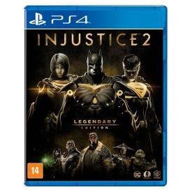 Jogo Injustice 2 Legendary Edition Playstation 4 - Luta