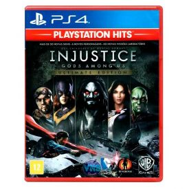 Jogo Injustice: Gods Among Us Ultimate Edition Playstation 4 - Luta