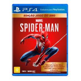 Jogo Marvel's Spider-Man Playstation 4 - Ação