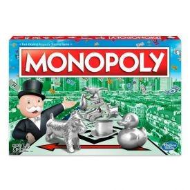 Jogo Monopoly Clássico Hasbro - C1009