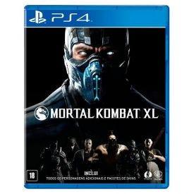 Jogo Mortal Kombat Xl Playstation 4 - Luta