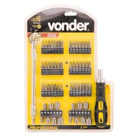 Jogo de Ponteiras com 58 peças Vonder 353858000 - DIVERSOS