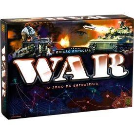 Jogo War de Estratégia Edição Especial Grow - Preto