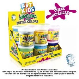 Kimeleca Slime Metal Colors Acrilex - 05832