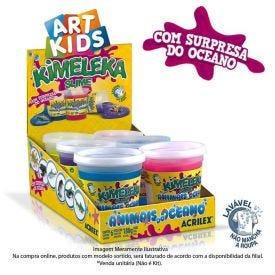 Kimeleka Slime Animais Do Oceano 180 Gramas Acrilex - 5860