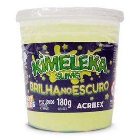 Kimeleka Slime Brilha No Escuro 180 Gramas Unidade Acrilex - 5895