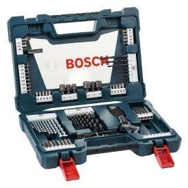 Kit Acessórios V-Line com 83 peças Bosch - Azul