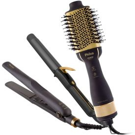 Kit Beauty Black Tourmaline Íon Pkt3200 Philco - Bivolt
