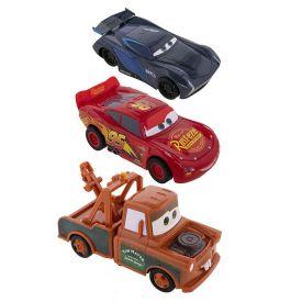Kit Carrinhos Com 3 Unidades Toyng Disney Pixar Carros 10Cm - 40787