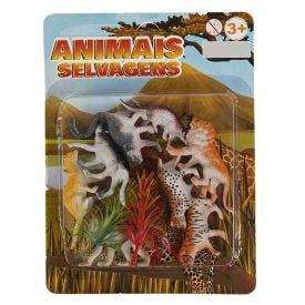 Kit De Animais Selvagens Sortidos Havan - HBR0222