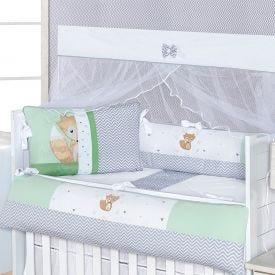 Kit de Berço Americano 9 peças Light Yoyo Baby - Renald