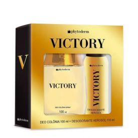 Kit Deo Colônia + Desodorante Victory Phytoderm - DIVERSOS