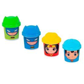 Kit Massinha Sunny Super Amigos Dc 4 Potes - 2160