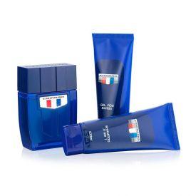 Kit Perfume Blue 100Ml+Shampoo 100Ml+Gel Barba 100Ml Camaro - DIVERSOS