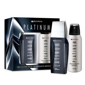 Kit Platinum Deo Colônia 100Ml + Desodorante 110Ml Phytoderm - DIVERSOS