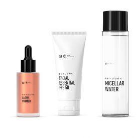 Kit Primer + Protetor + Água Micellar Beyoung - Diversos