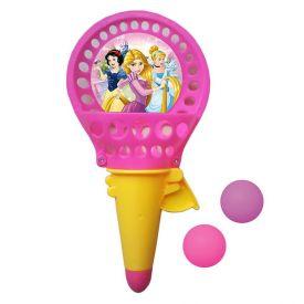 Lança Bolas Princesas Com 2 Bolas Etitoys - DY-034