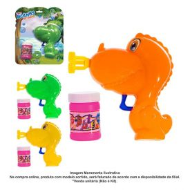 Lança Bolhas De Sabão Dinossauro Art Brink - 842603