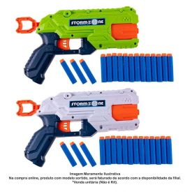 Lançador De Dardos Strike Guns Com 16 Peças - HBR0031