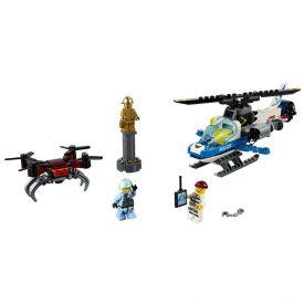 Lego City Perseguição da Polícia 192 Peças - 60207 - Colorido
