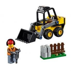 Lego City Trator De Construção 88 Peças - 60219