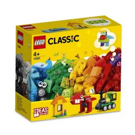 Lego Classic Peças e Ideias 123 Peças - 11001 - Colorido