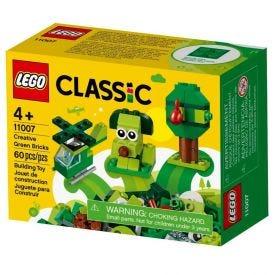 Lego Classic Peças Verdes Criativas 60 Peças - 11007