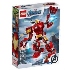 Lego Super Heroes Robô Iron Man 148 Peças - 76140