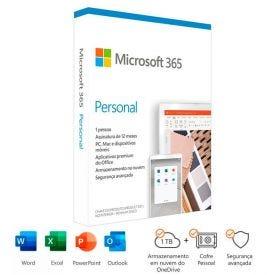 Licença Microsoft 365 Personal Assinatura Anual - QQ2-01017