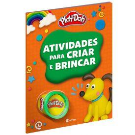 Livro Atividades Para Criar E Brincar Play-Doh Laranja - Culturama