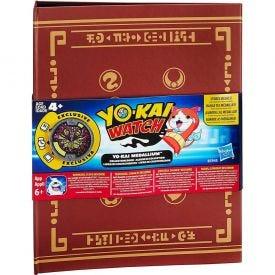 Livro de Coleção Yo-kai Watch com Medalha Hasbro - Marrom