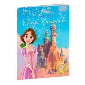 Livro Castelo Encantado Disney Rapunzel Com Adesivos - Culturama