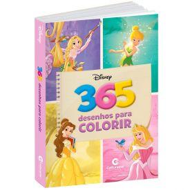 Livro Desenhos Para Colorir Meninas Da Disney - Culturama