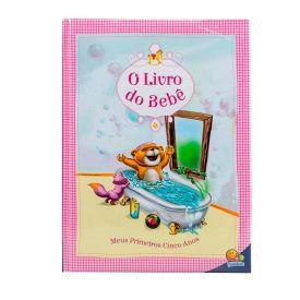 Livro Do Bebê - Meus Primeiros Cinco Anos Todolivro - Rosa