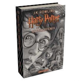 Livro Harry Potter 20 Anos A Ordem Da Fênix - Capa Dura