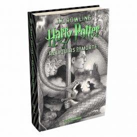 Livro Harry Potter 20 Anos As Relíquias Da Morte - Capa Dura