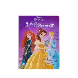 Livro Ler E Brincar Princesa Culturama - Quebra - Cabeça