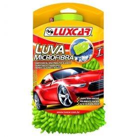 Luva De Microfibra Para Auto Luxcar - Verde