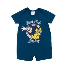 Macacão de Bebê Mickey e Pluto Disney