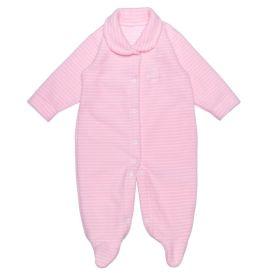 Macacão de Bebê Soft com Pézinho Yoyo Baby Listra