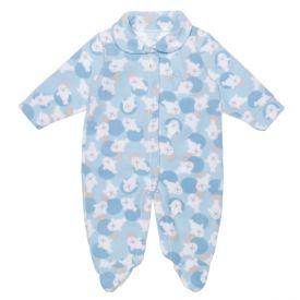 Macacão de Bebê Soft Neutro Yoyo Baby Foca