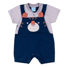 Macacão de Bebê Ursinho Yoyo Baby
