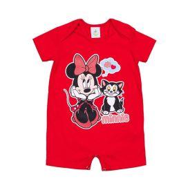 Macacão de Bebê Minnie e Gatinho Disney