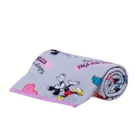 Manta Infantil Flanela Personagens Disney - Minnie Sonhos