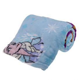 Manta Infantil Fleece Frozen Lepper - Azul