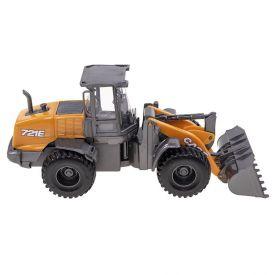 Máquina Pá Carregadeira Usual Brinquedos Case Construction 721E - 401